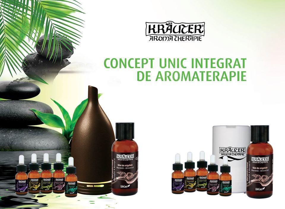 Concept Unic Integrat Aromaterapie